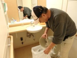 老人ホーム清掃作業